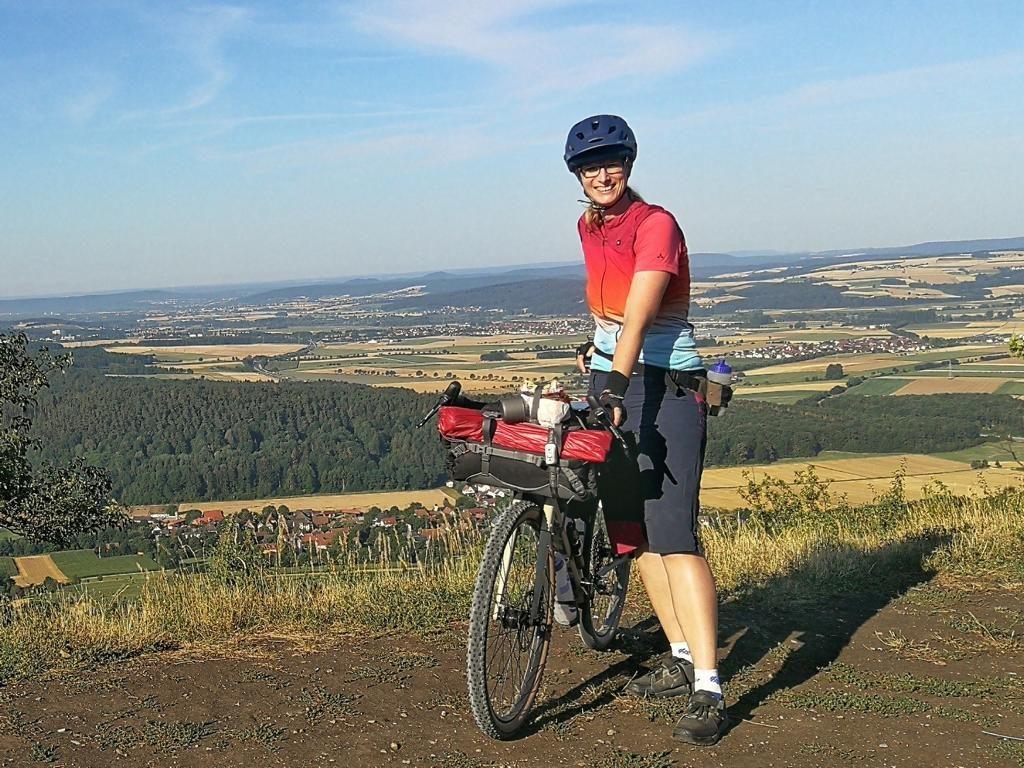 Bikepacking Franconia Aussicht