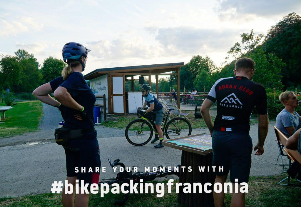 Bikepacking Franconia Erschöpft